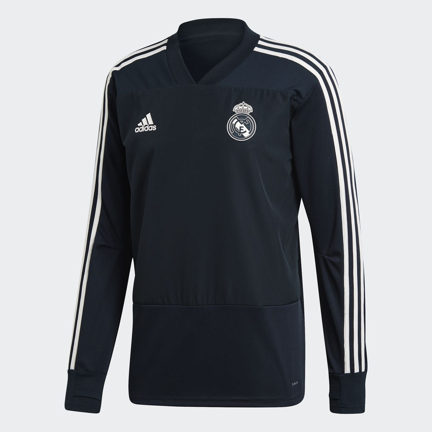 Image of   Real Madrid track top 2018/19 - black-M