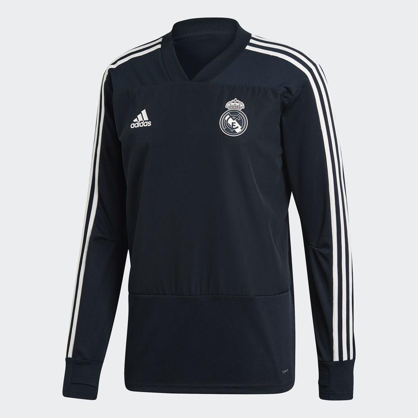 Real Madrid track top 2018/19 - black-XL