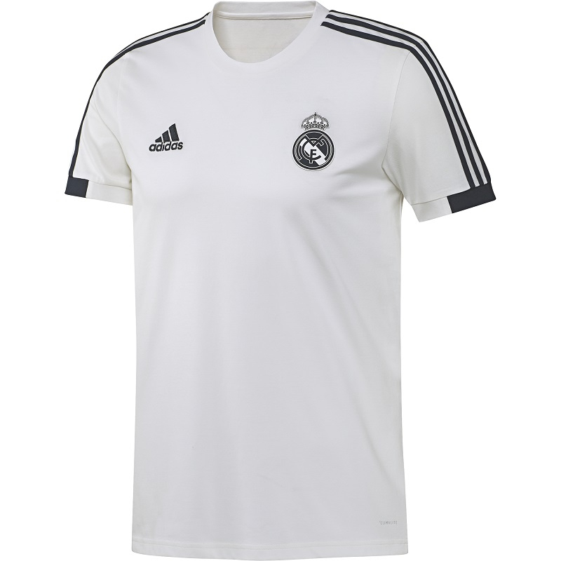 Image of   2018-2019 Real Madrid Adidas Training Tee (White)-XL