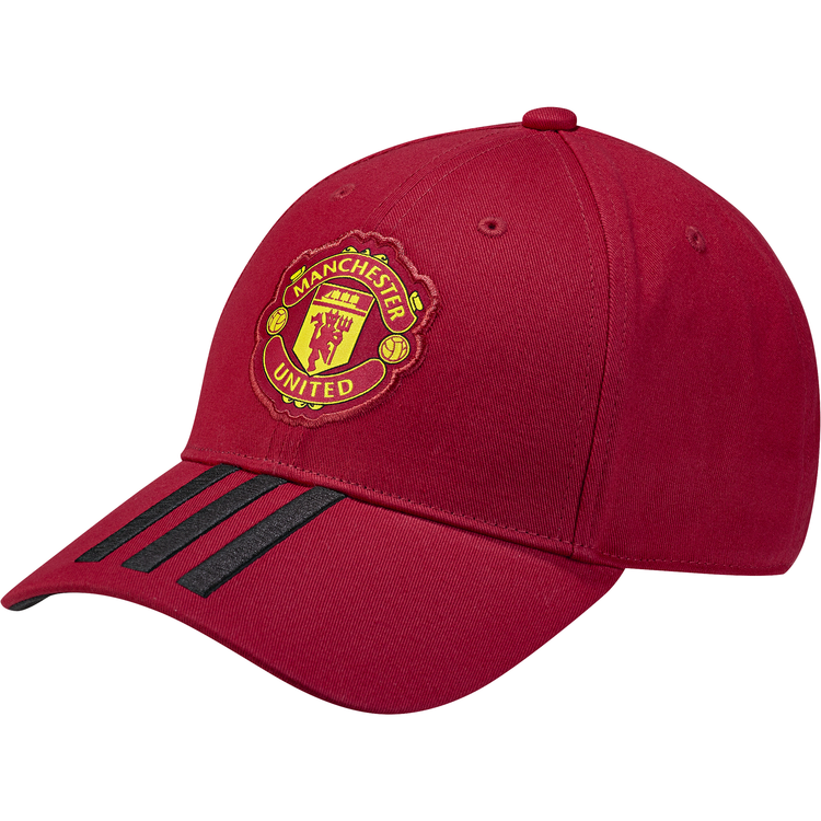 Image of   Manchester United 3 stripe cap 2018/19 - red-M - adult