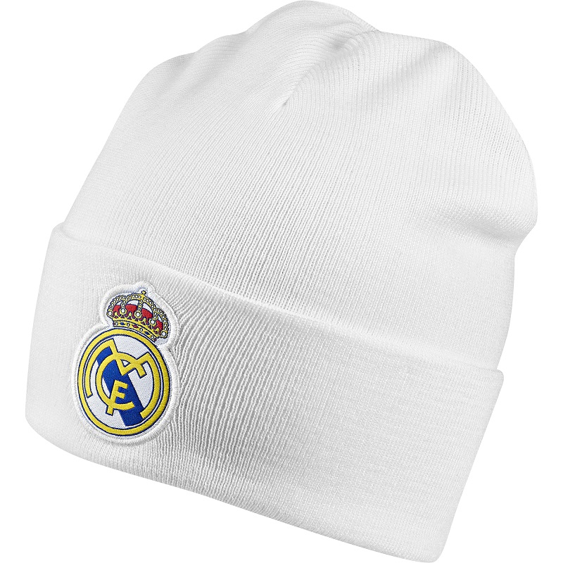 Real Madrid woolie hat 2018/19 - white-youth