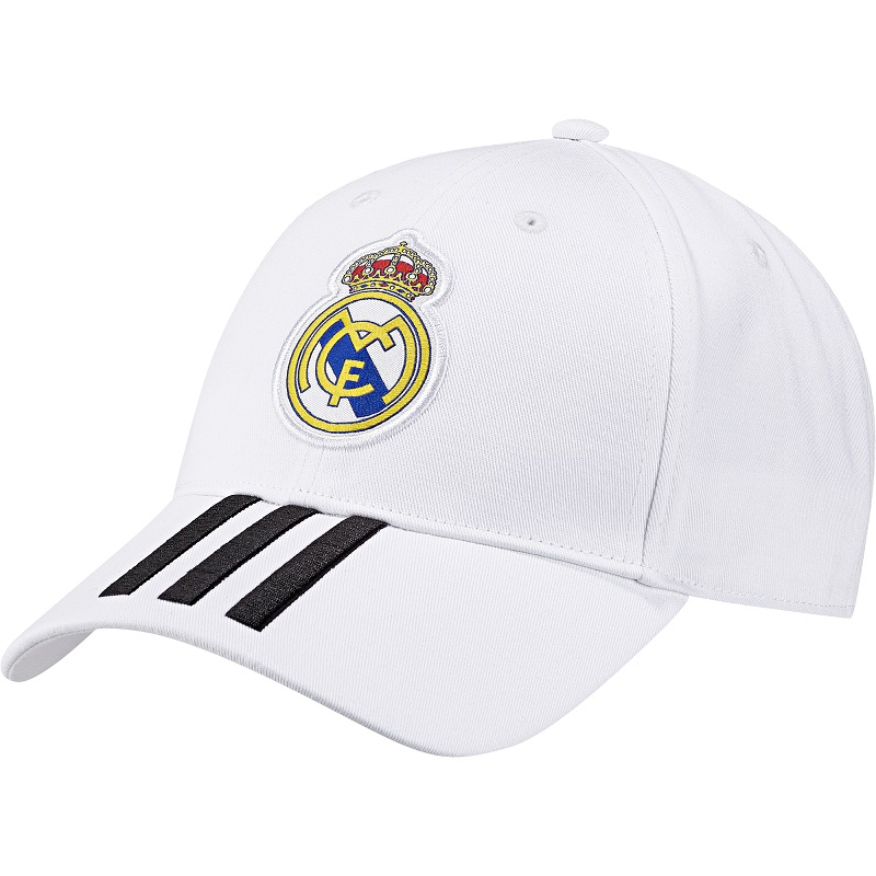 Real Madrid cap 2018/19 - white-M - adult