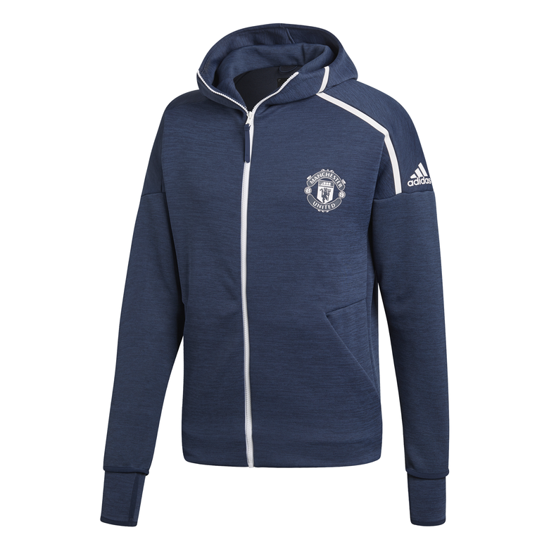 Image of Manchester United ZNE hoody top 2018/19-S
