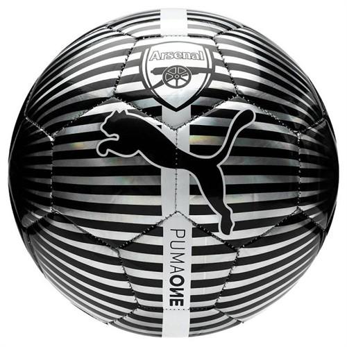 Arsenal soccer ball - chrome