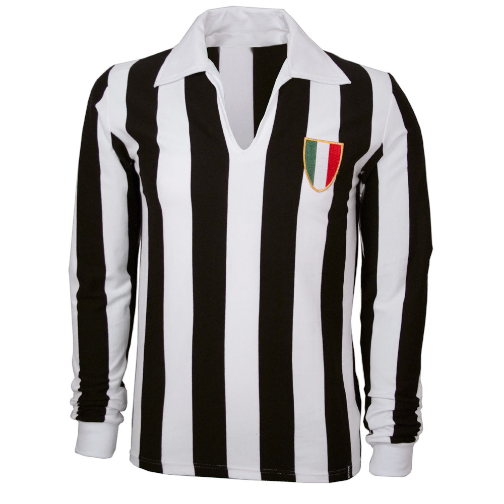 Copa Juventus langærmet retro-trøje - 1960'erne