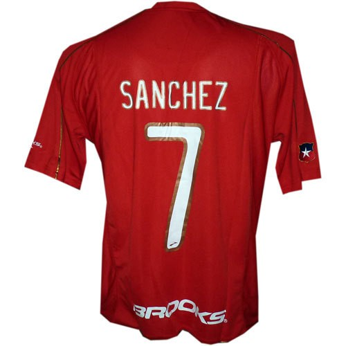 Chile home jersey 2010