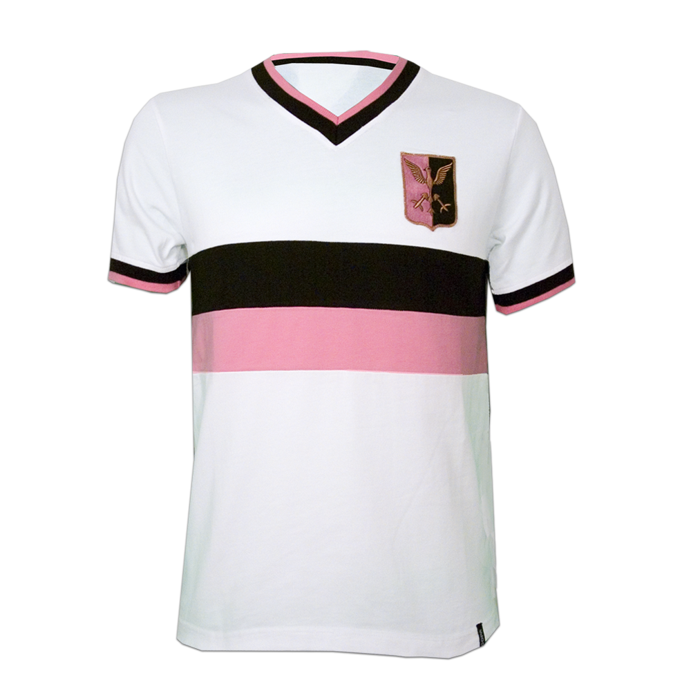 Copa Palermo Away 1970's Short Sleeve Retro Shirt