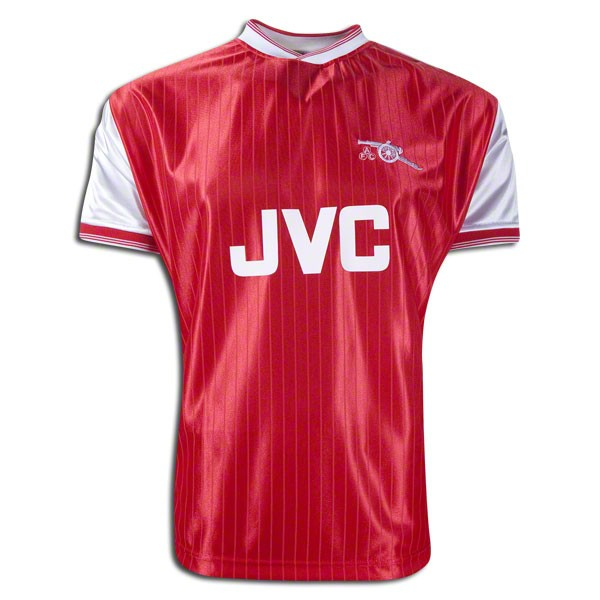Arsenal 1984-1986 retro football jersey