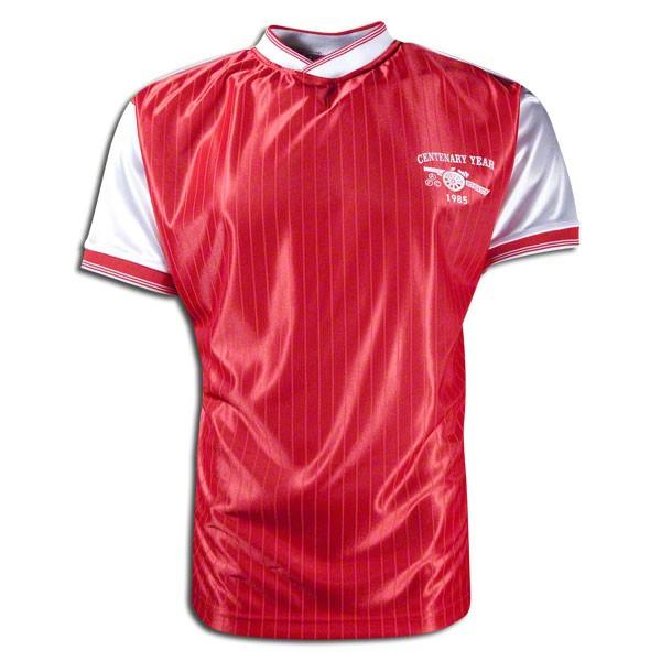 Arsenal 1985 centenary retro football jersey