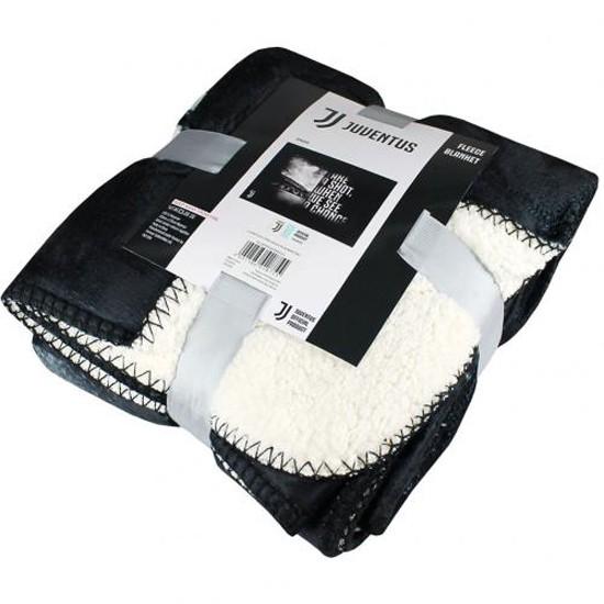 Juventus FC Sherpa Fleece Blanket