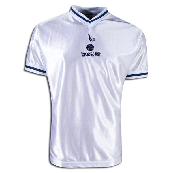 Tottenham hotspur 1981 FA cup retro jersey