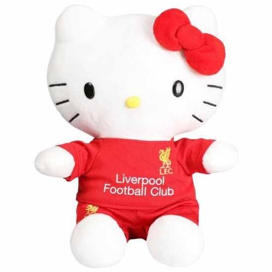 Liverpool FC Plush Hello Kitty