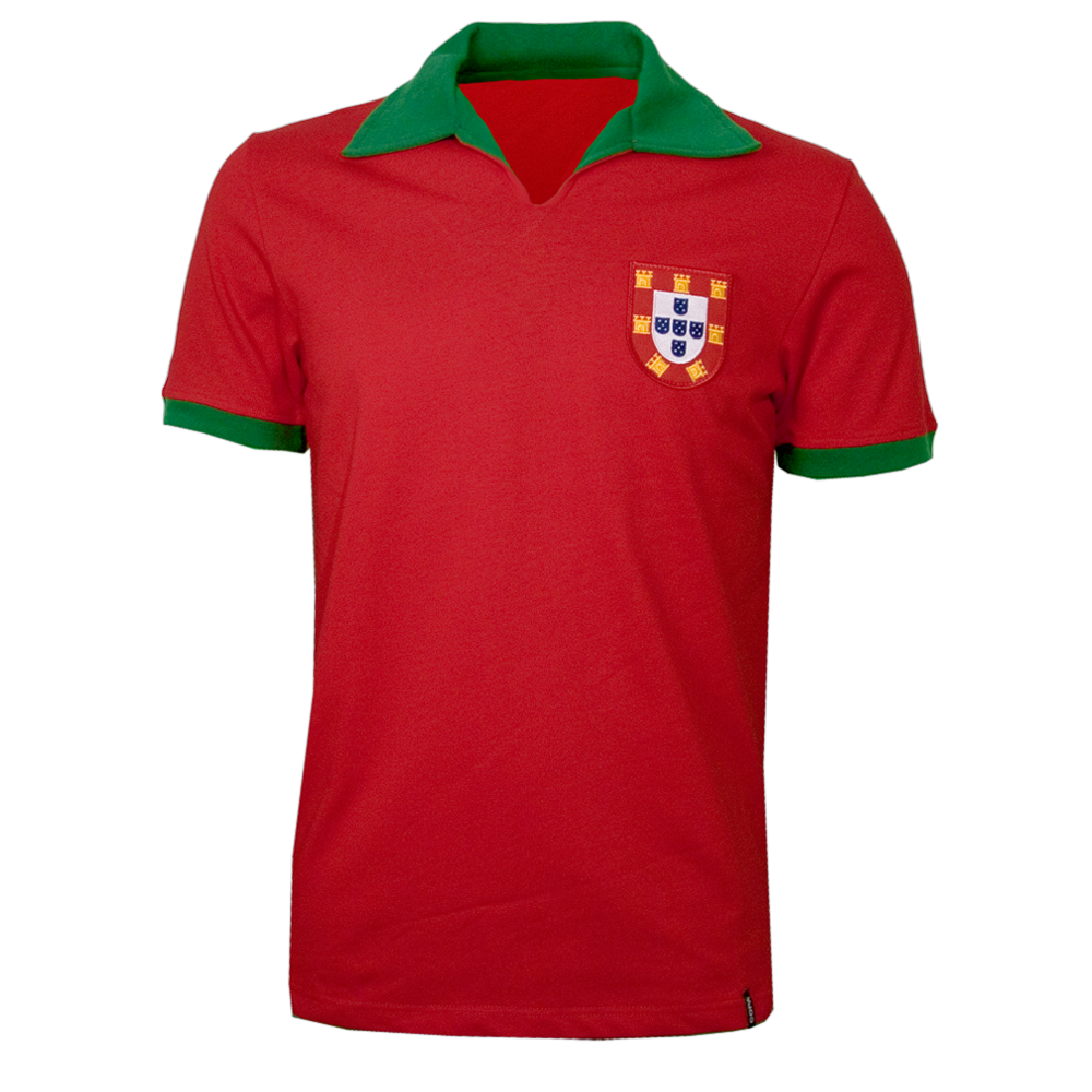 Copa Portugal 1972 Short Sleeve Retro Shirt