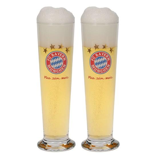 FC Bayern Munchen Pils Glass (Set of 2)