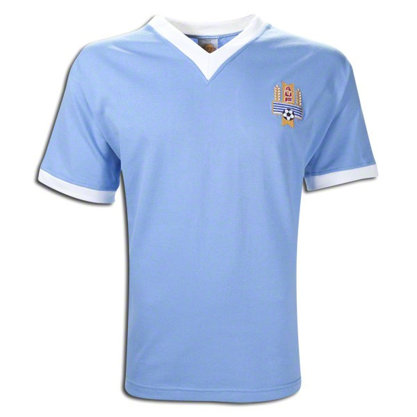Uruguay 1950 world cup final retro jersey