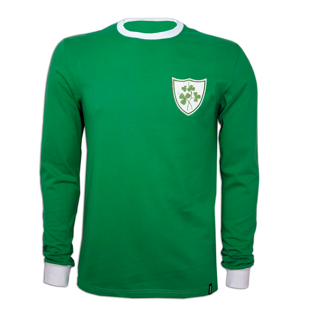 Copa Ireland 1960's Long Sleeve Retro Shirt