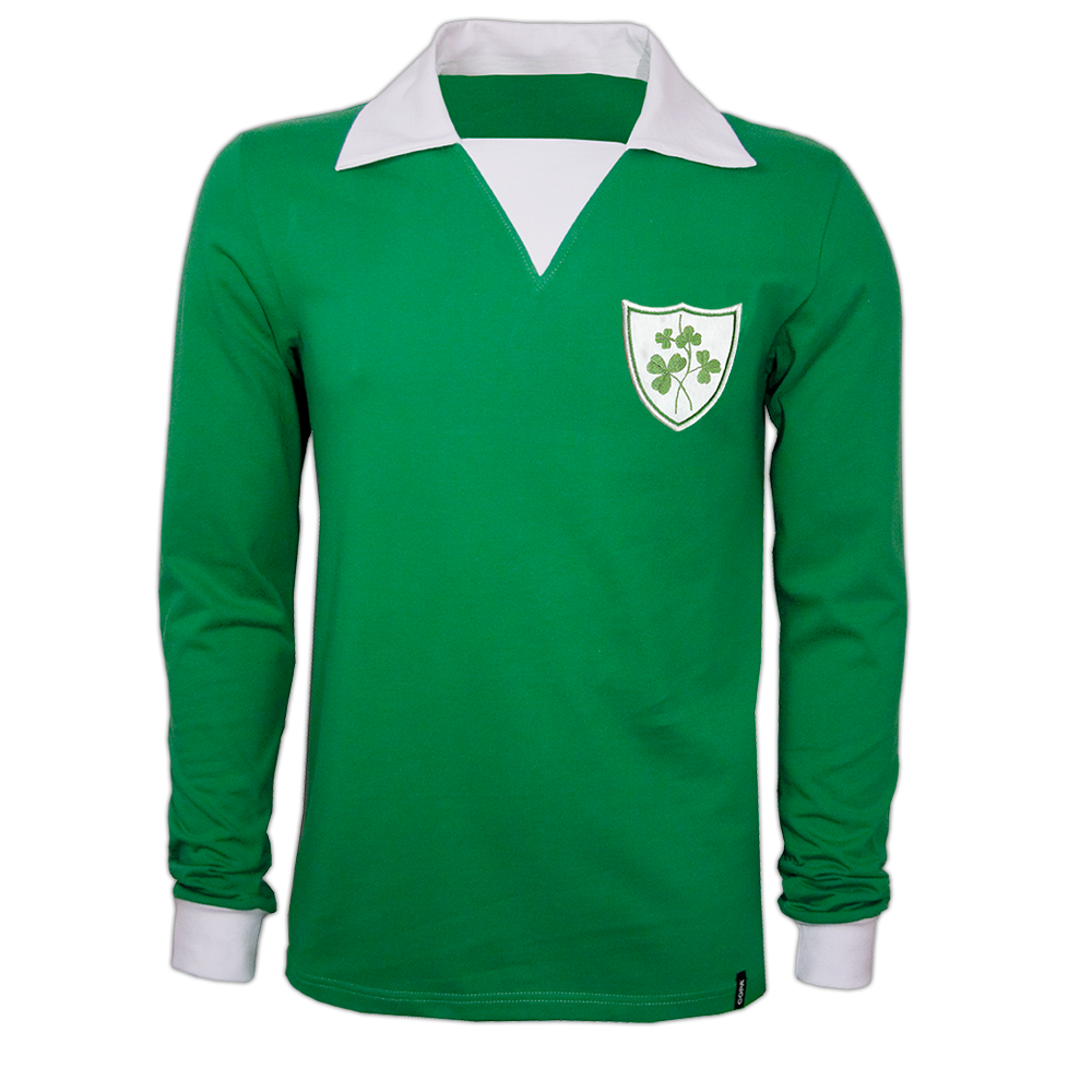 Copa Ireland 1970's Long Sleeve Retro Shirt