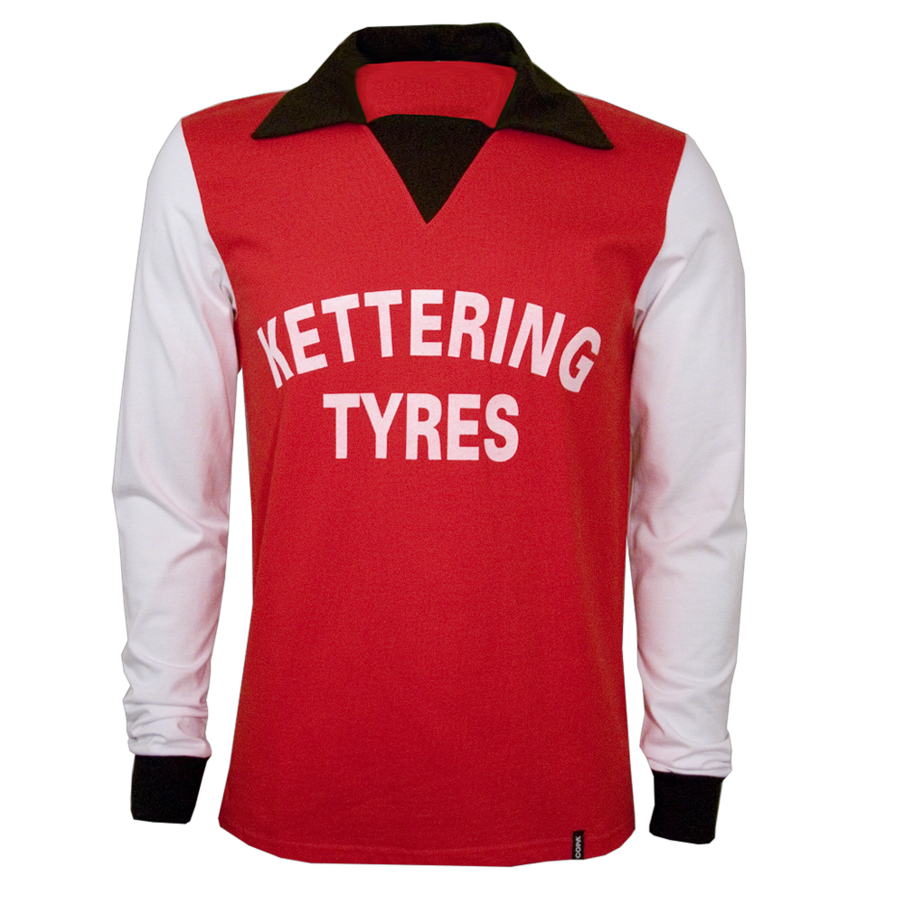 Copa Kettering Town 1976 Long Sleeve Retro Shirt