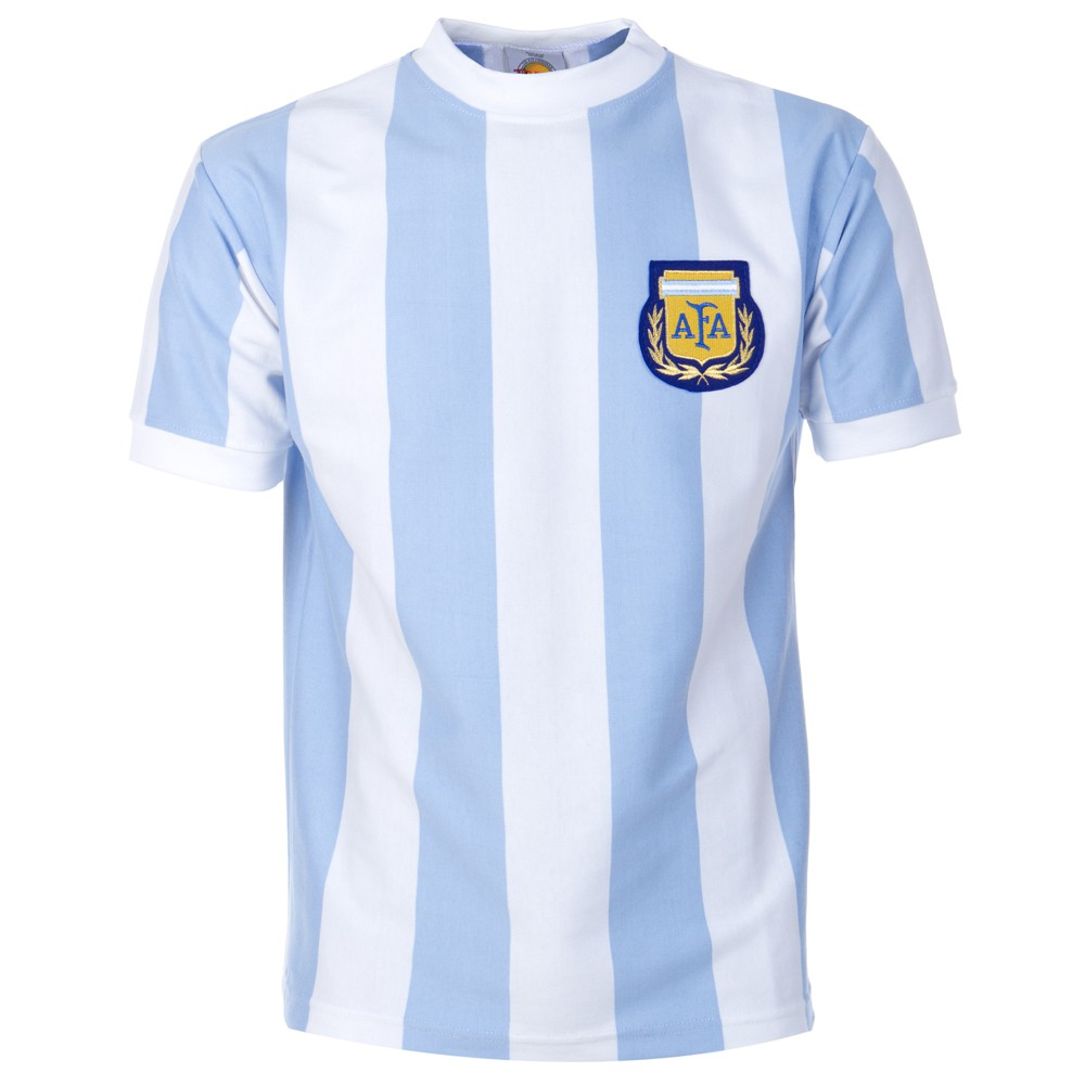 Argentina 1986 world cup retro football jersey