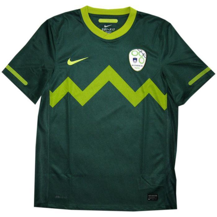 Slovenia away jersey 2010