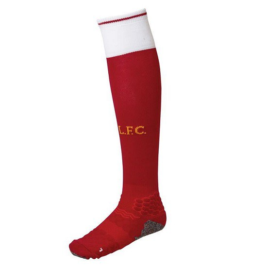 Liverpool home socks 2017/18 - youth