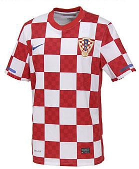 Croatia home jersey 2013/14