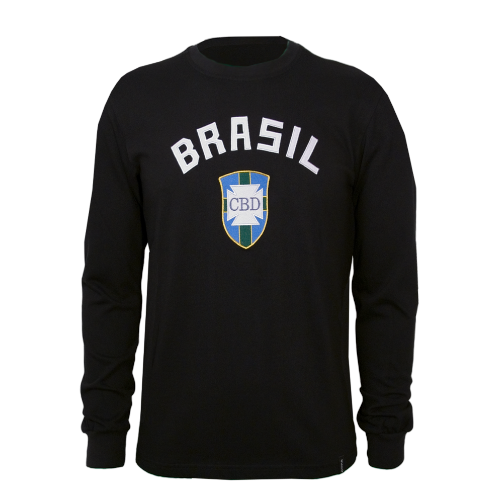 Copa Brazil Goalie 1970's Long Sleeve Retro Shirt