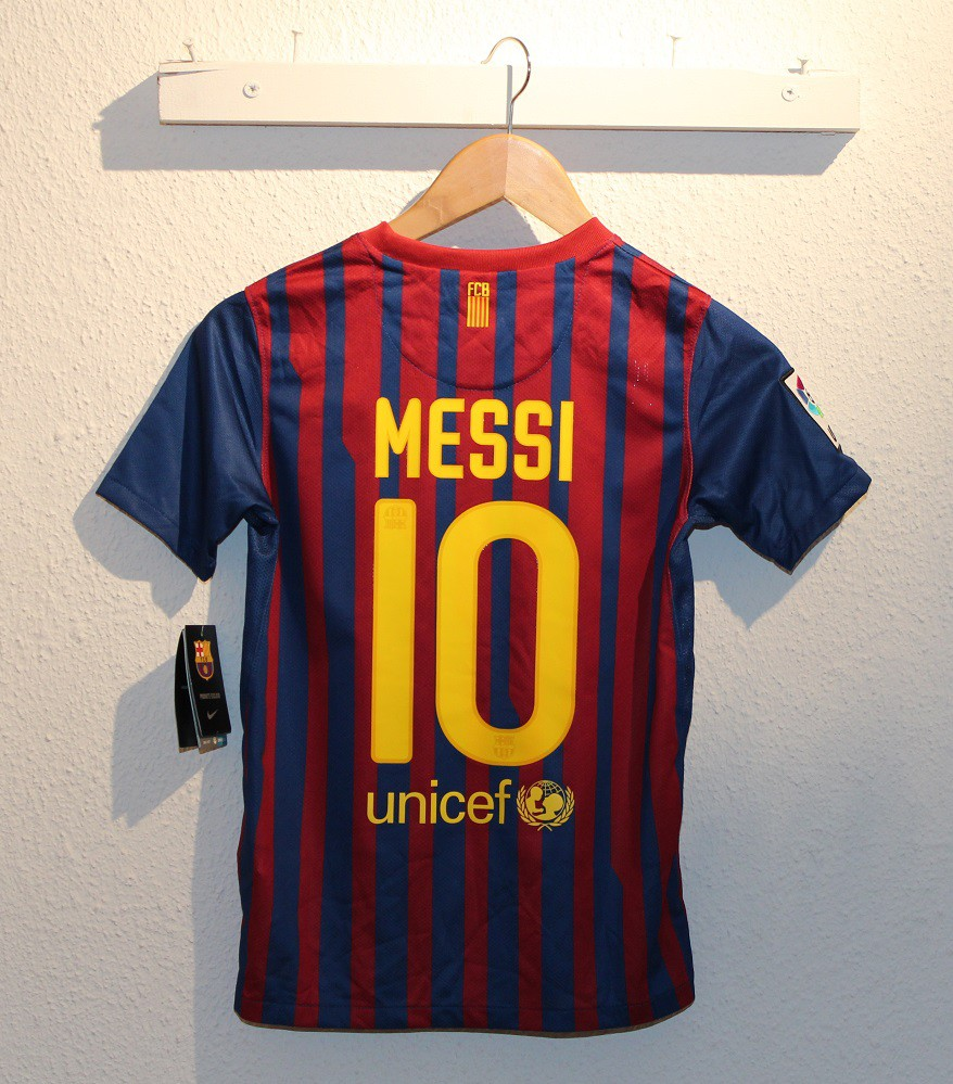 FC Barcelona home jersey 2011/12 - youth - ERROR - M10
