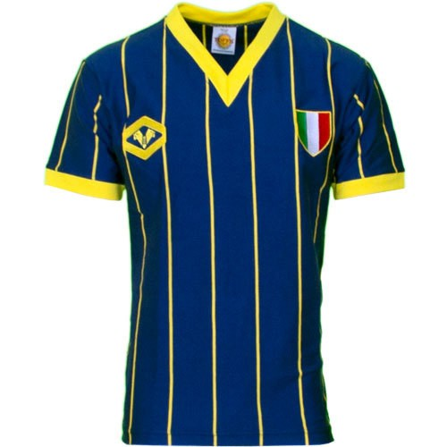 Verona 1985 scudetto retro football jersey