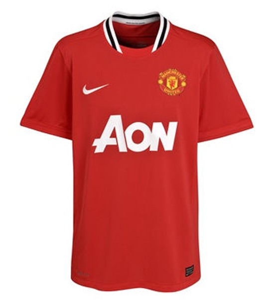 Manchester United home jersey 2011/12 - youth