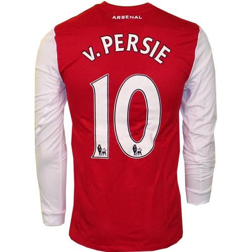 Arsenal hjemme trøje Lange Ærmer 2010/12 - v. Persie 10