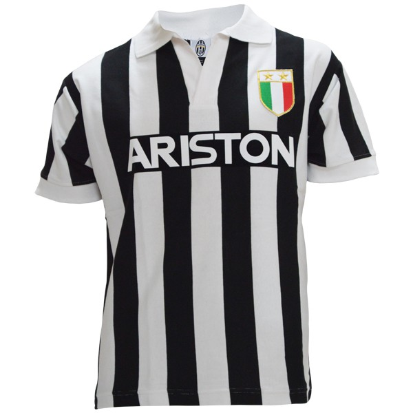 Juventus 1984-1985 home retro football jersey