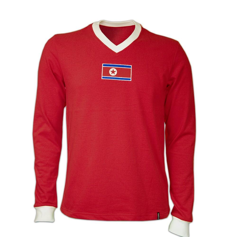 Copa Nordkorea langærmet retrotrøje - VM 1966