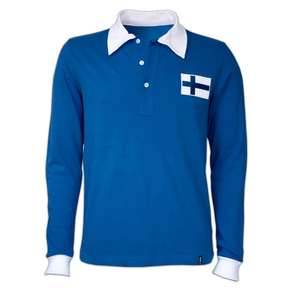 Copa Finland 1955 retro trøje lange ærmer
