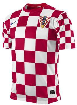 Croatia home jersey 2012
