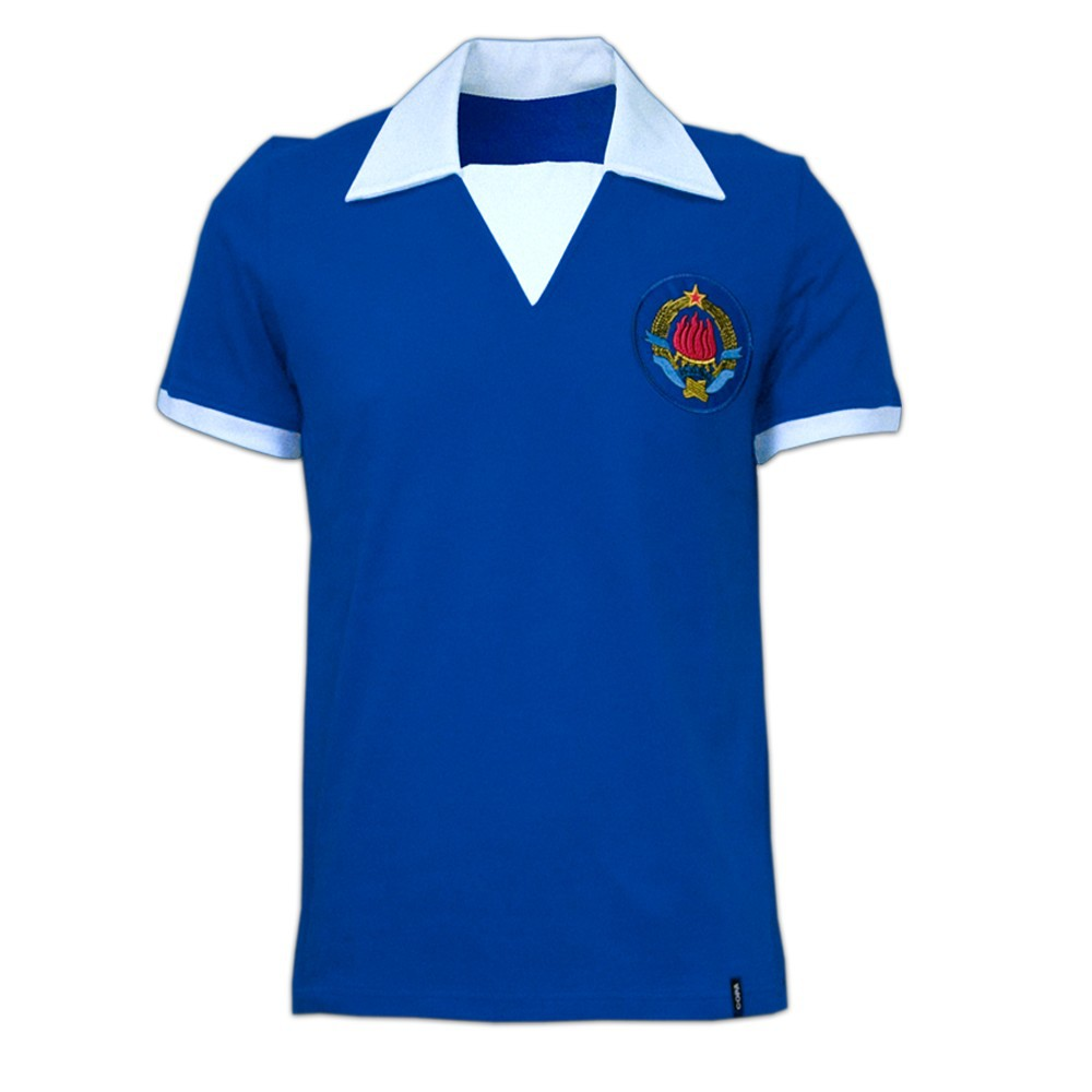 Copa Jugoslavien 1980erne retro trøje