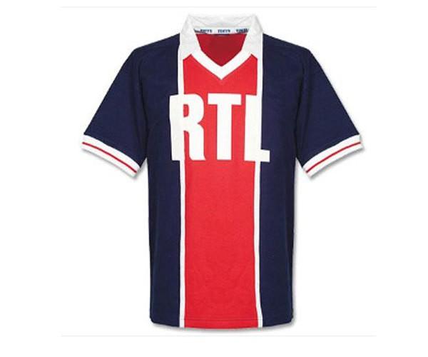 Paris Saint-Germain retro shirt - RTL sponsor logo