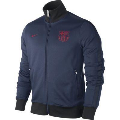 Nike FC Barcelona Authentic N98 Mens Football Track Jacket
