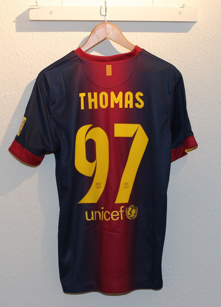FC Barcelona home jersey 2012/13 - Thomas 97