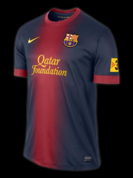 FC Barcelona hjemme trøje 11-12