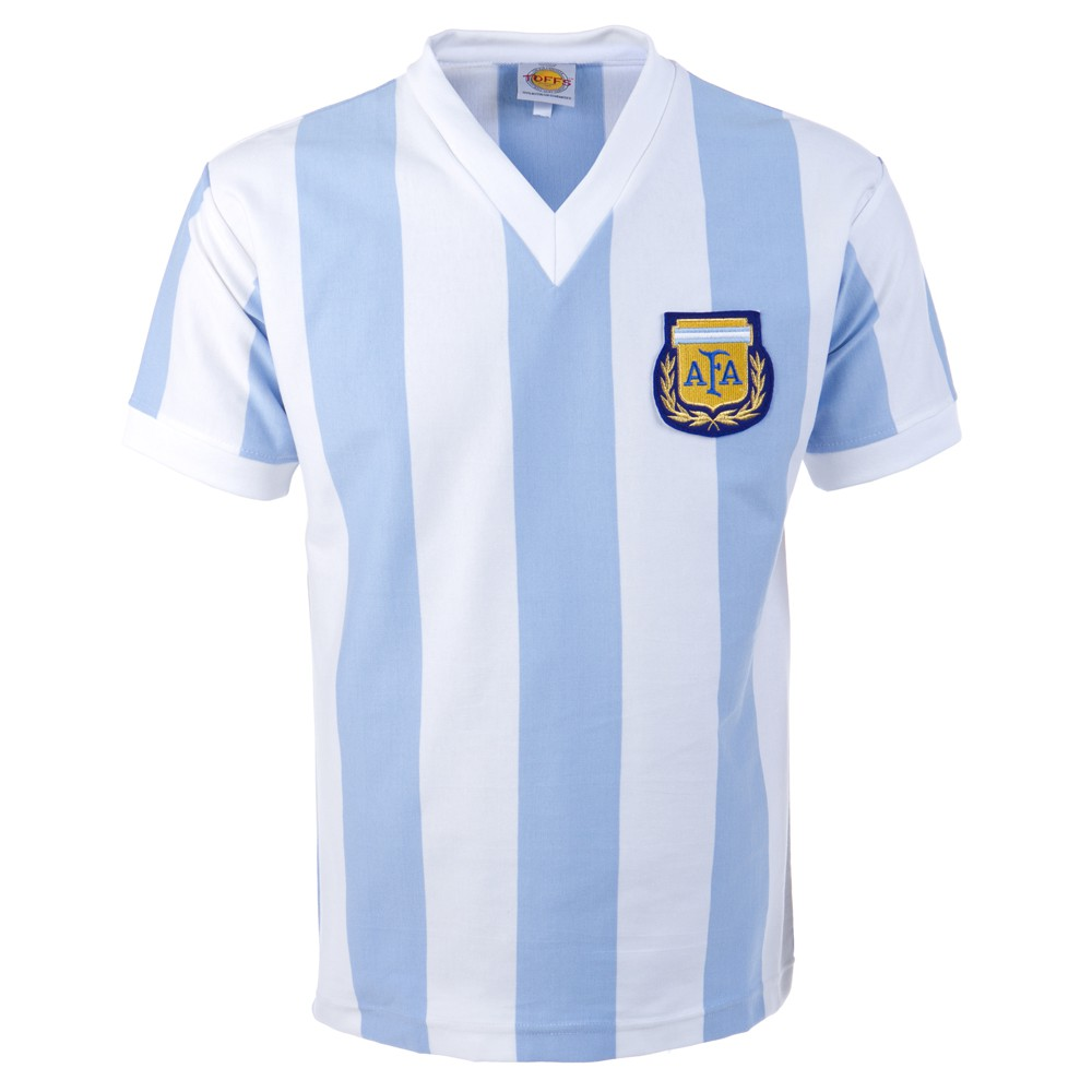 Argentina 1982 world cup retro football jersey