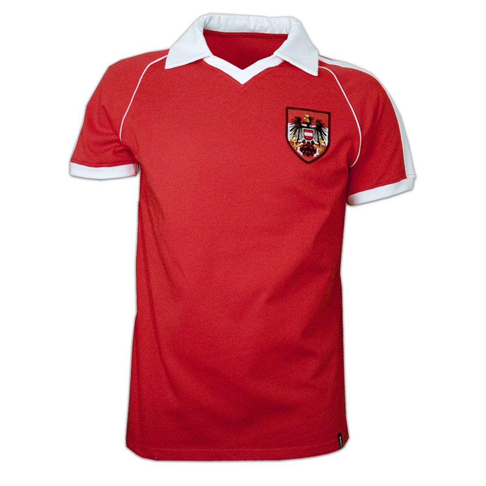 Copa Austria Away WC 1982 Short Sleeve Retro Shirt