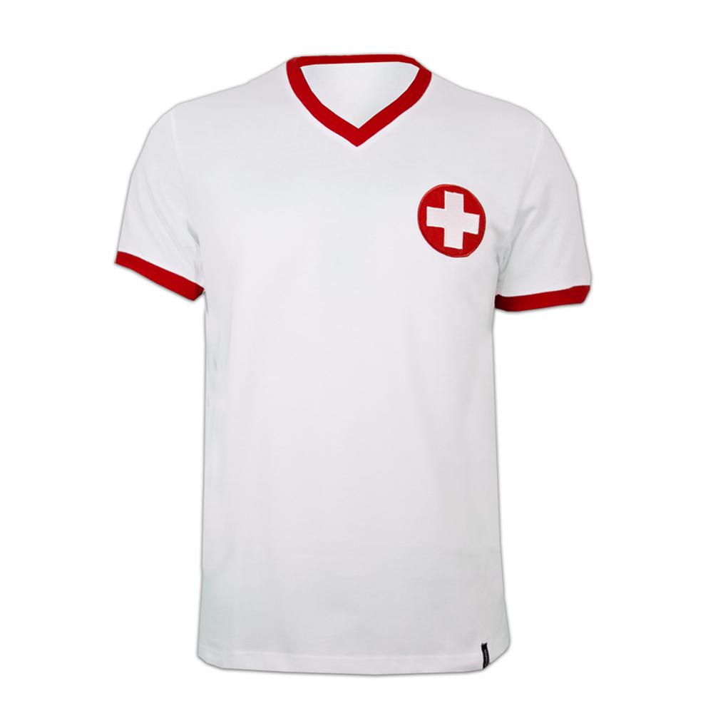 Copa Schweiz ude trøje 1970erne retro trøje