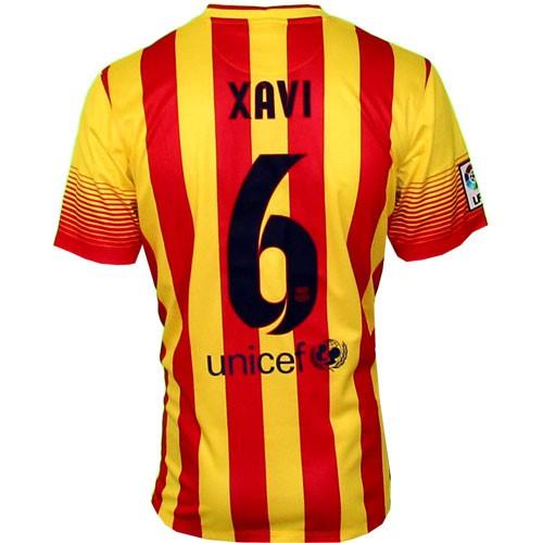 FC Barcelona away jersey 2013/14 - Xavi 6