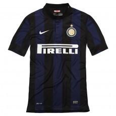 Inter milan short sleeve home replica jarsy 2013/14