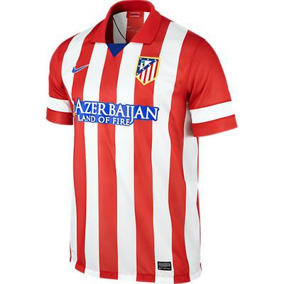 Atletico Madrid home jersey 2013/14