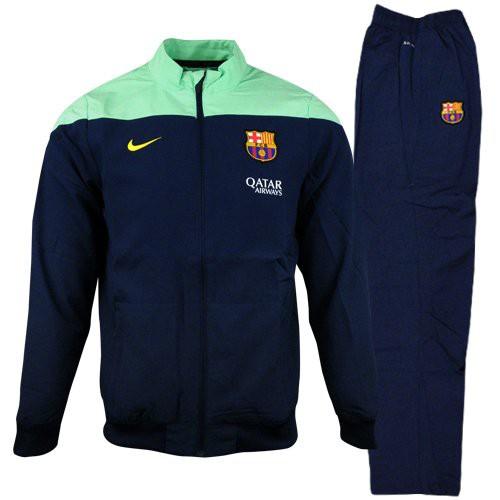 FC Barcelona woven sideline warmup 2013/14