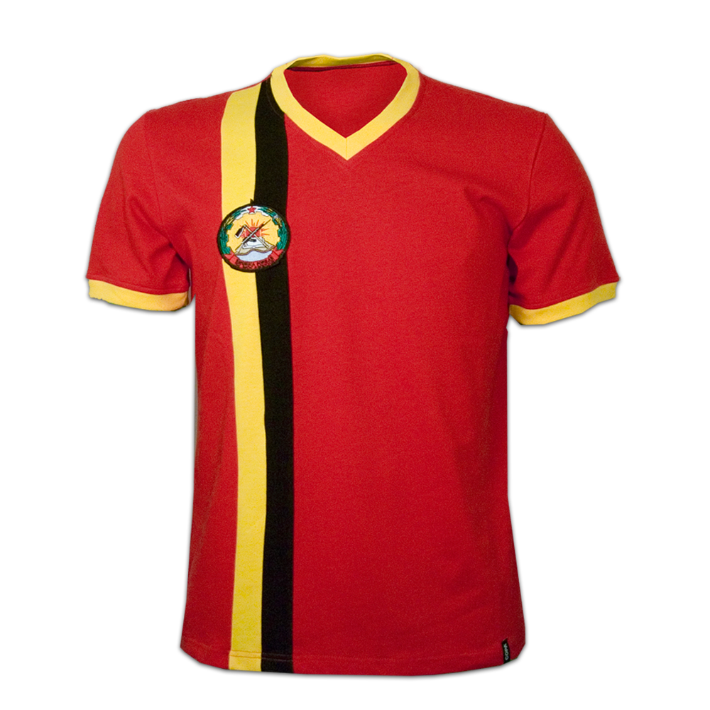 Mozambique 1980erne retro trøje