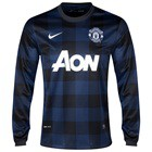 Manchester united long sleeve jersey 2013/14