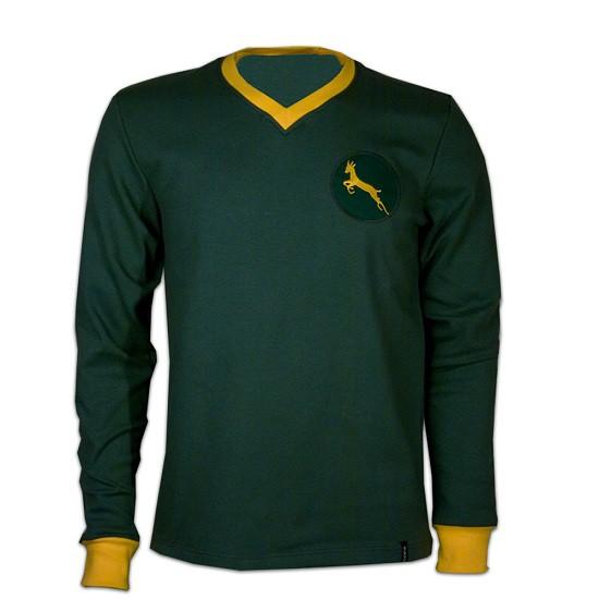 Sydafrika 1960erne retro trøje lange ærmer